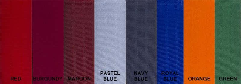 Seat belt Colours2